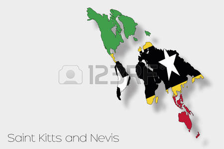 933 Saint Kitts And Nevis Stock Vector Illustration And Royalty.