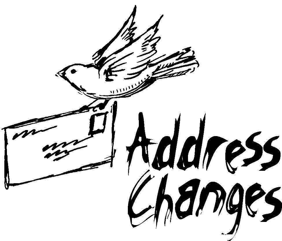 Your Address Change Clip Art.