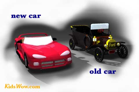 New vs old clipart.