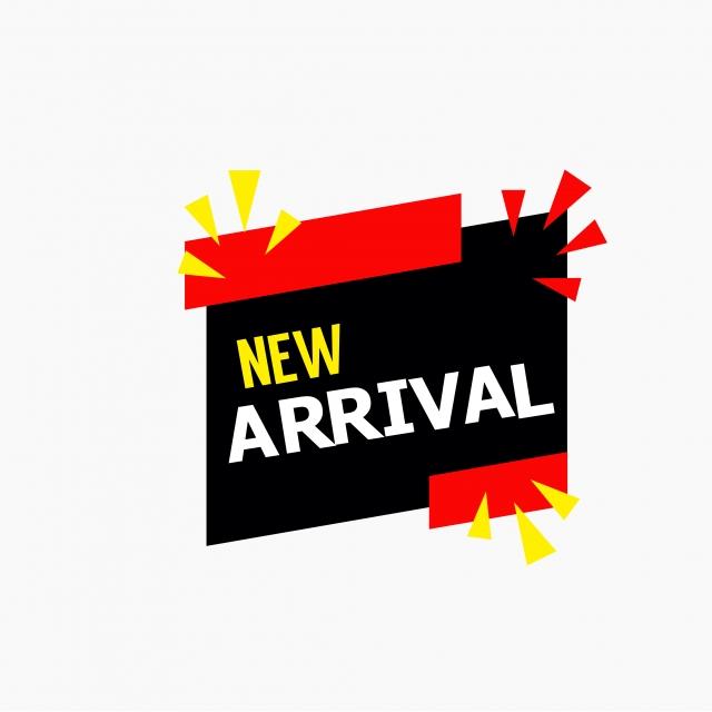 New Arrival Vector Template Design Illustration, New.