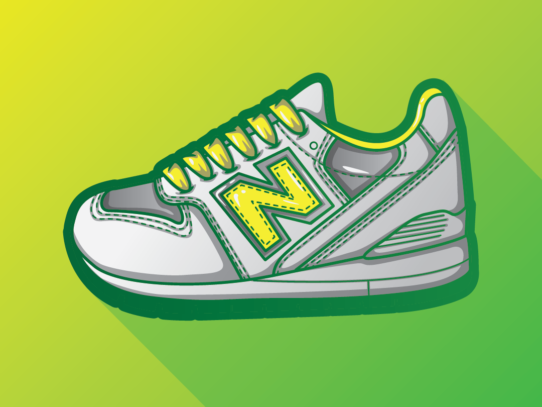 VECTOR ILLUSTATION OF NEW BALANCE by Maxime archambault on.