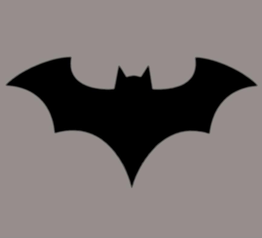 Free download Batman New 52 Symbol Logo by DUSK11 [866x788.