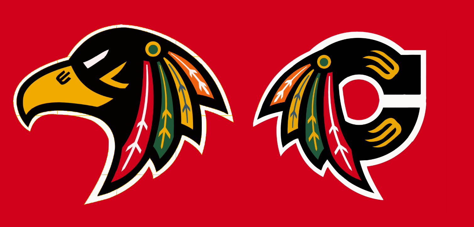 BarDown: A possible new logo for the Chicago Blackhawks if.