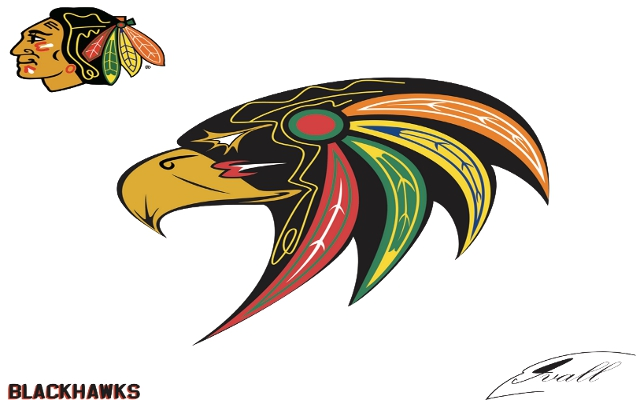 Possible New Chicago Blackhawks logo.