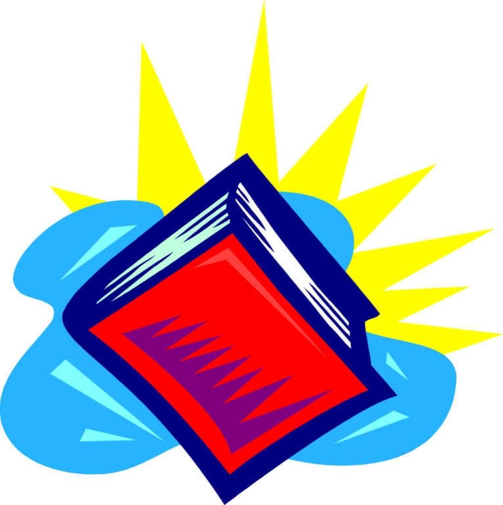 School Books Clipart.