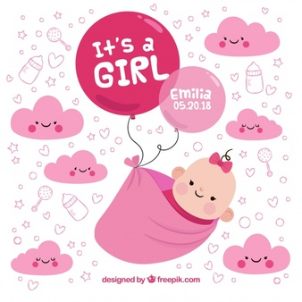 Baby Girl Vectors, Photos and PSD files.