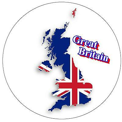 GREAT BRITAIN MAP / FLAG.