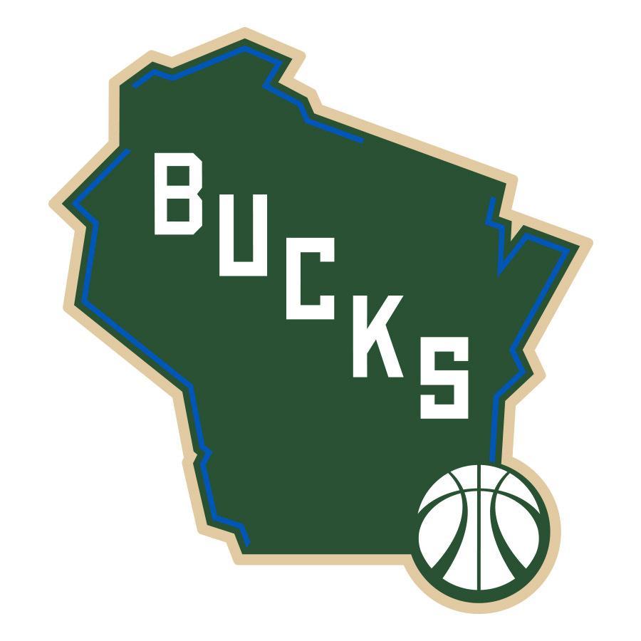 New Milwaukee Bucks Logo.