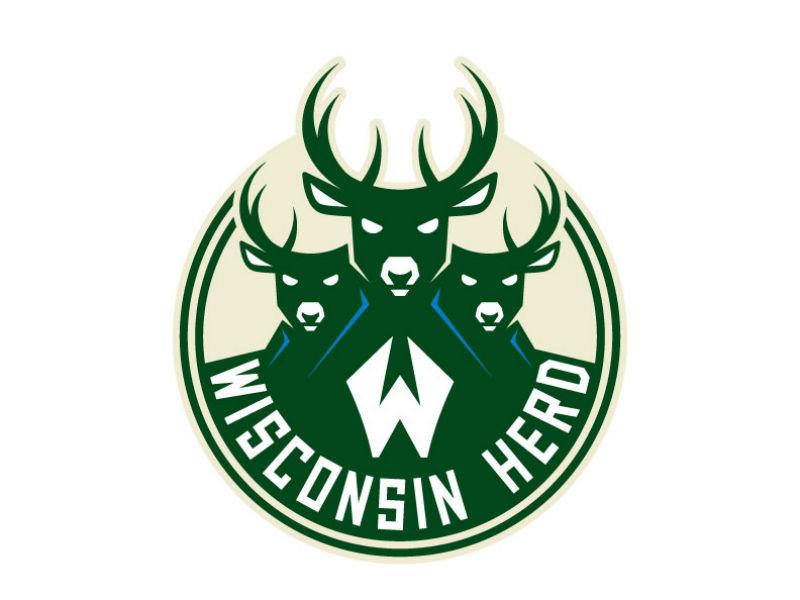 Mirroring Bucks\' visual identity, Wisconsin Herd reveals new.