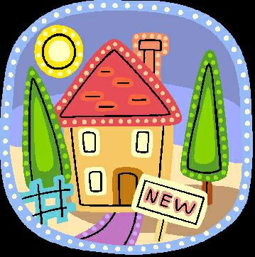 Clipart new house.
