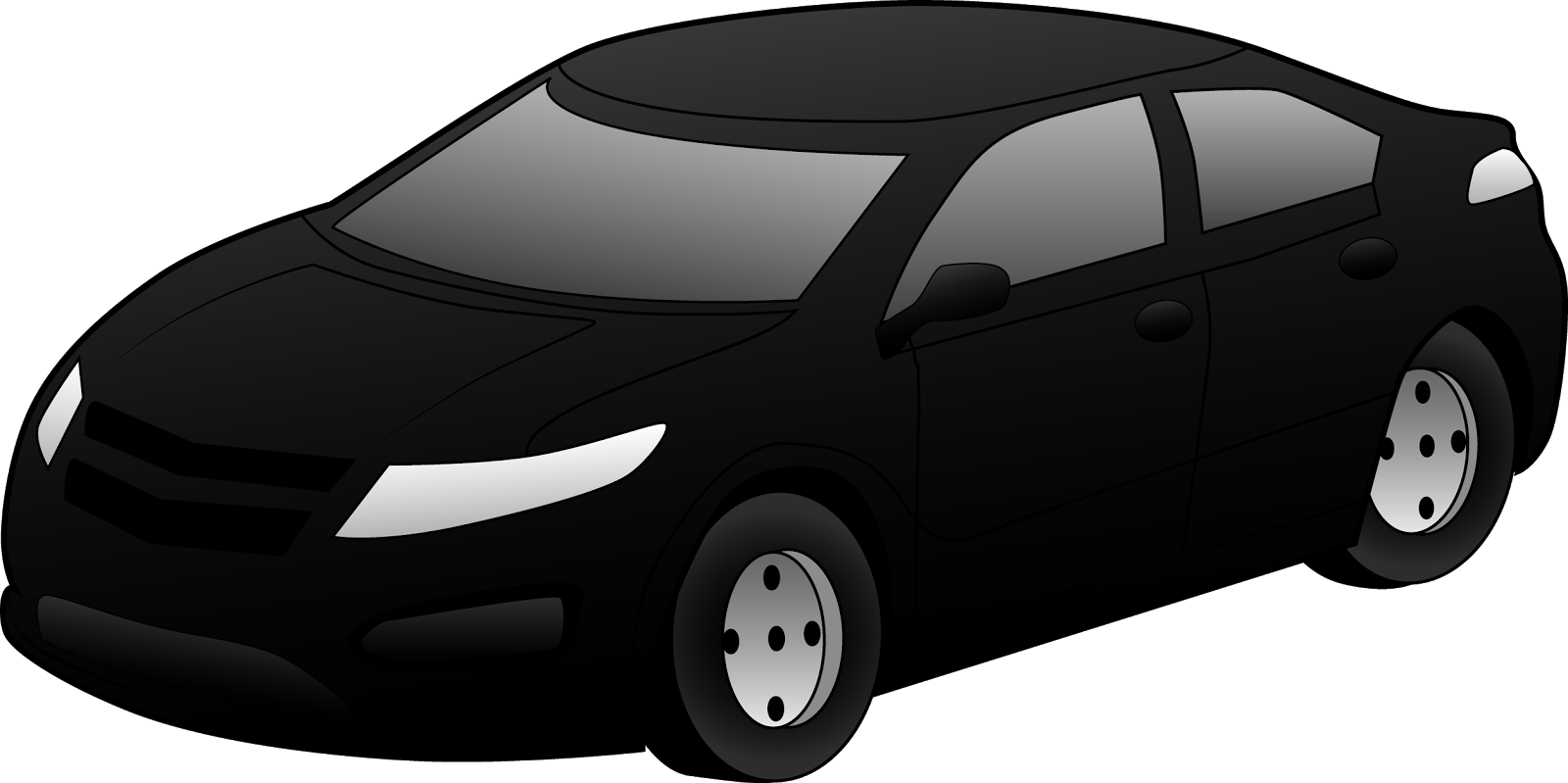 Free New Car Clipart Image.