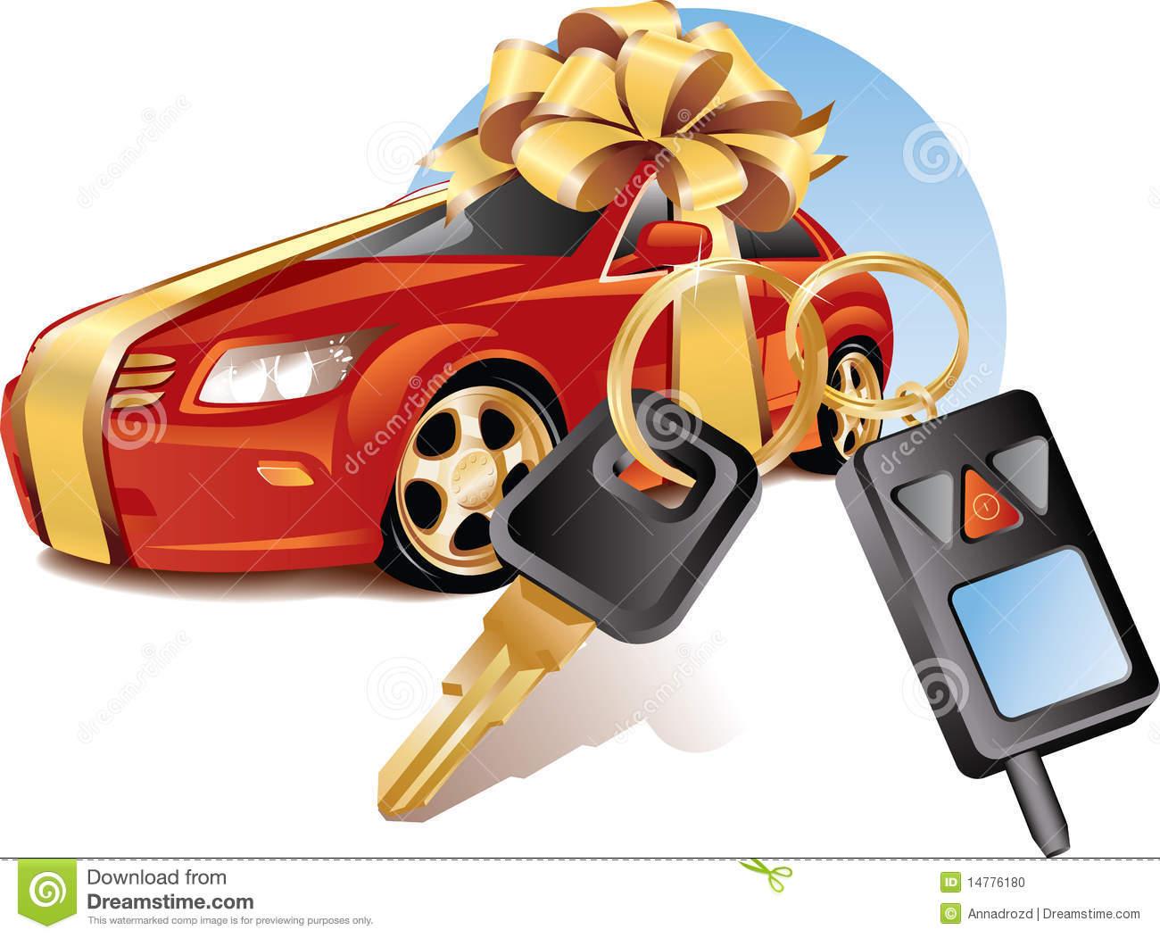 New car clip art.