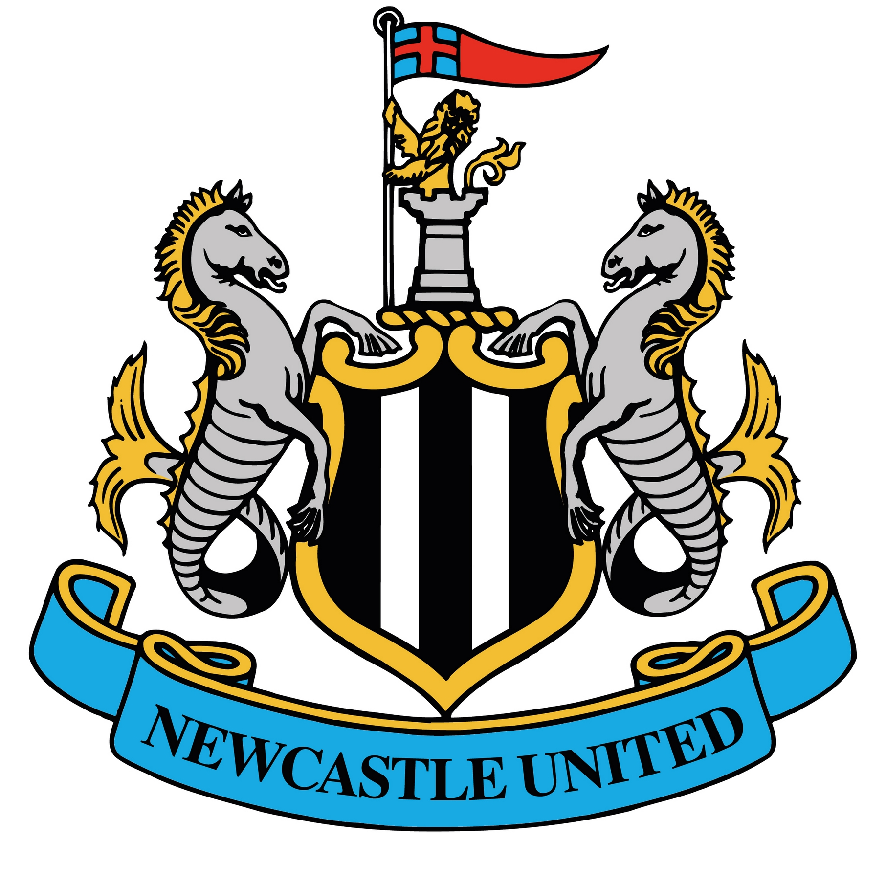 Newcastle united badge clipart.