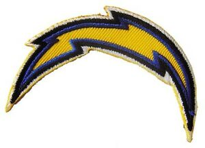 Details about New NFL San Diego Chargers Logo embroidered iron on patch.  3.1 x 0.8 inch (i168).
