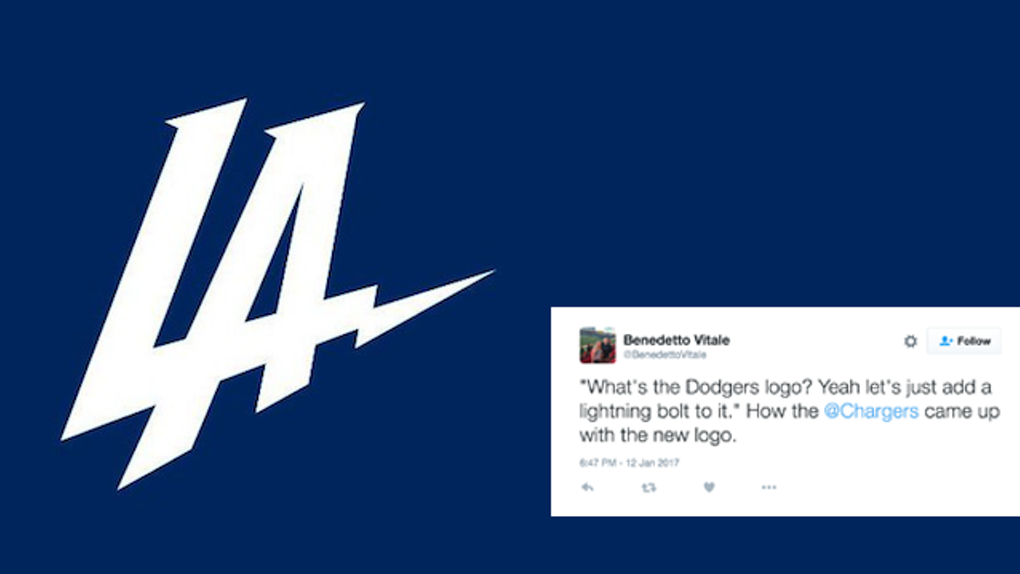 The New Chargers Logo Is Being Dragged On Twitter.