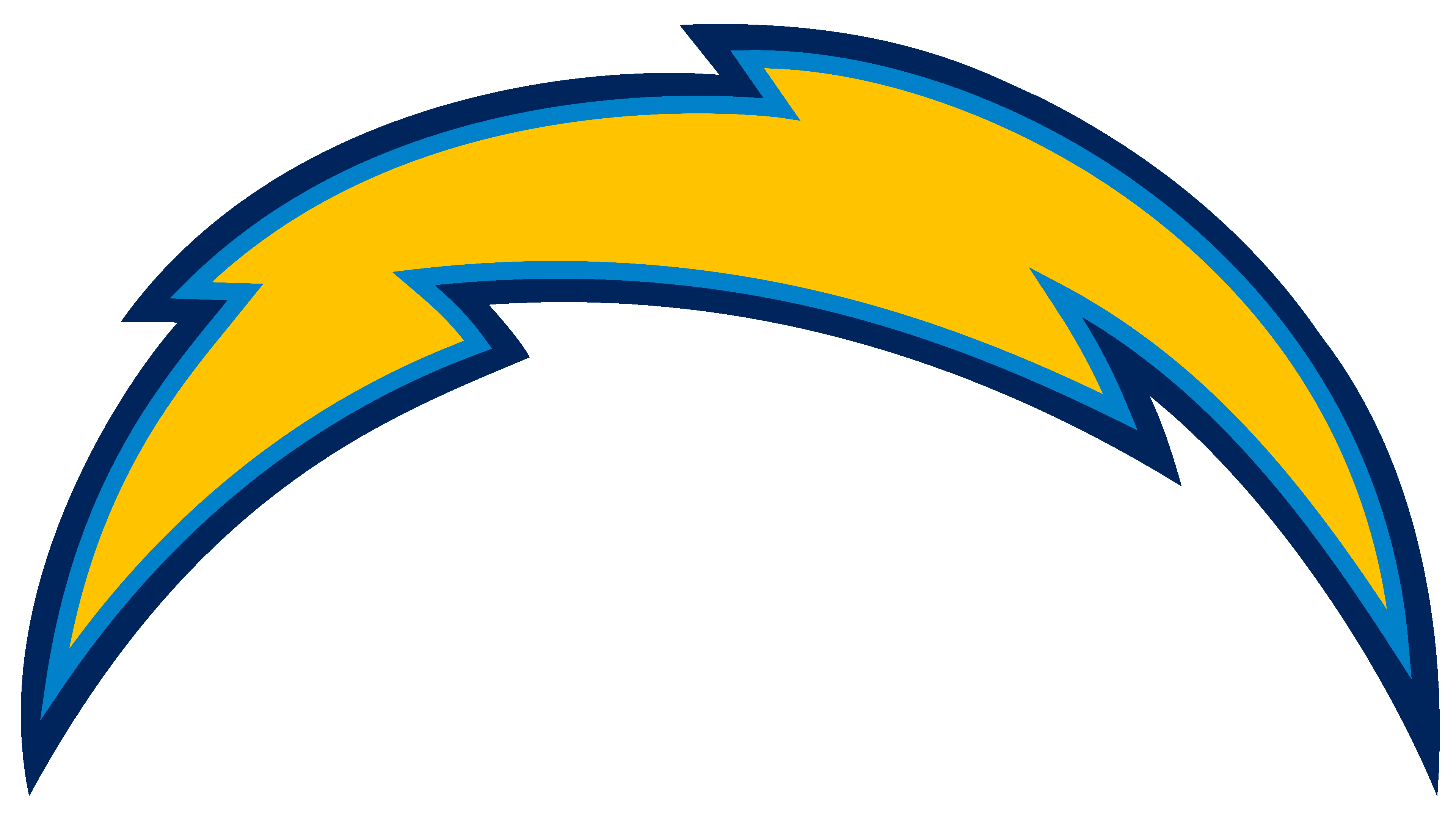 Los Angeles Chargers Logos.