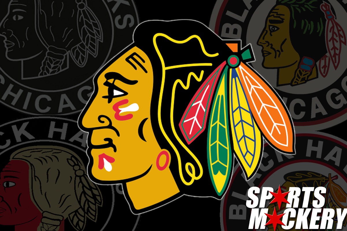The History of the Chicago Blackhawks Logo.