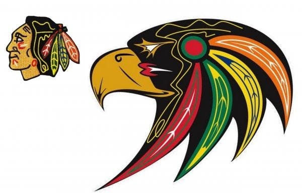 Culturally Appropriate Chicago Blackhawks Logo by First.