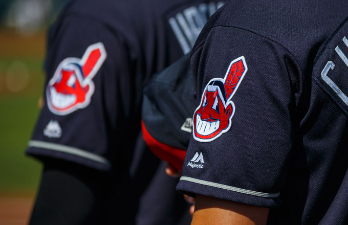 Cleveland Indians Debut New Chief Wahoo.