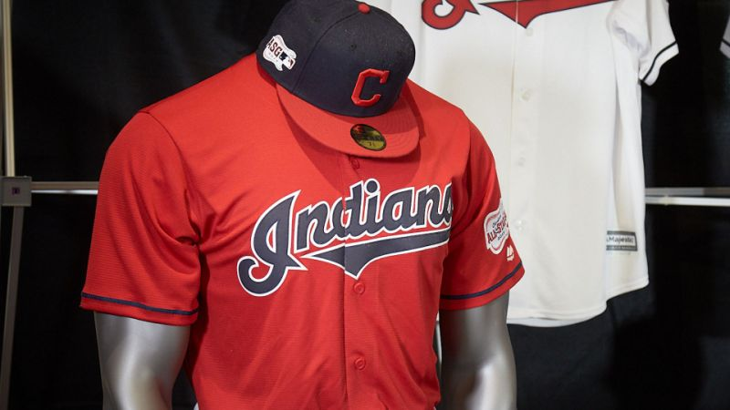 Chief Wahoo is gone and the Indians have new.