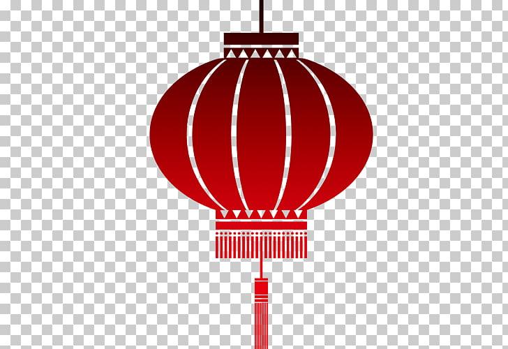 Paper lantern Chinese New Year , Red lantern effect artwork.
