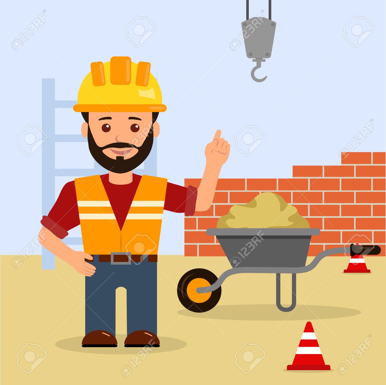 Building clipart construction, Building construction.