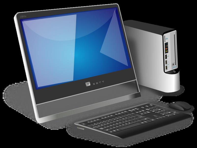 Pc clipart basic computer, Pc basic computer Transparent.