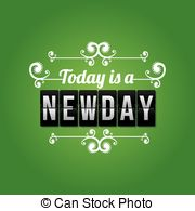 Newday Vector Clipart EPS Images. 2 Newday clip art vector.