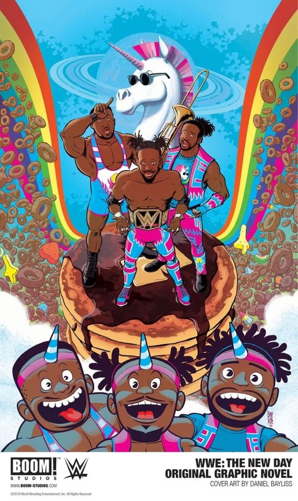 Kofi Kingston Reveals The New Day are Getting a Graphic.