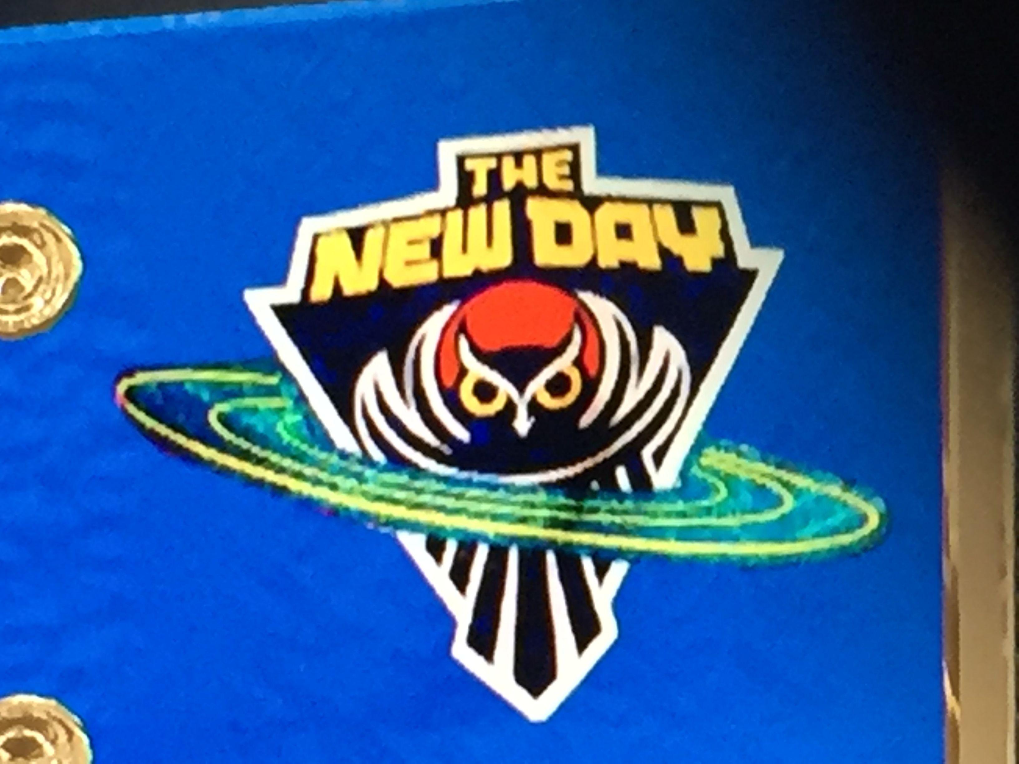 The New Day (Big E,Kofi Kingston and Xavier Woods) logo 13.