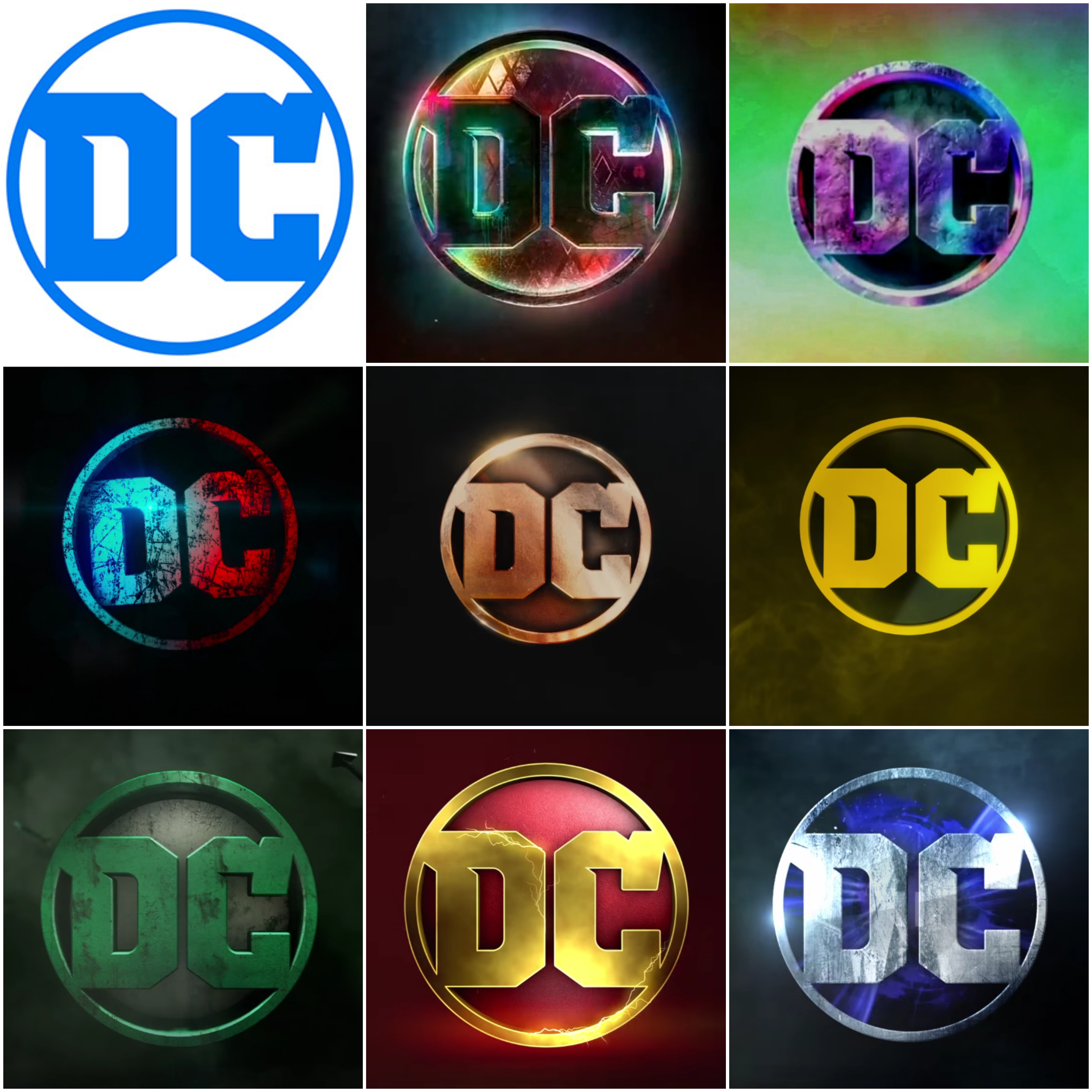 Gotta love the things they can do with the new DC logo.