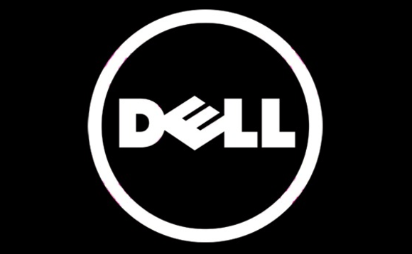White Dell Logo.