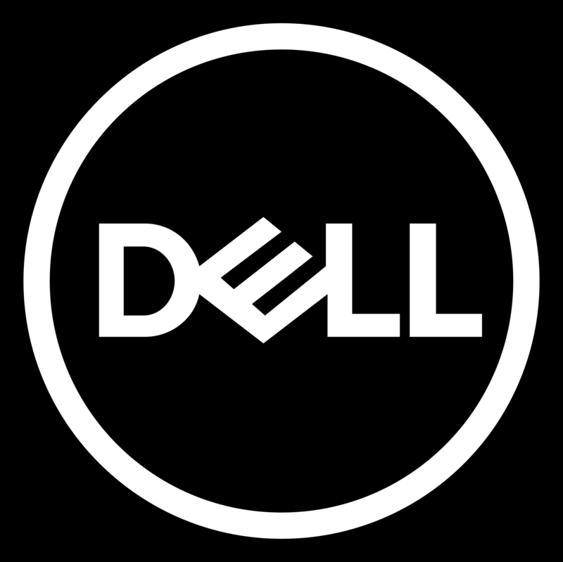 Download Free png Dell Logo White.