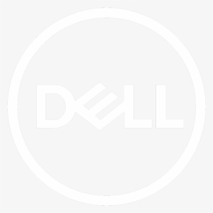 Dell Logo White PNG Images.