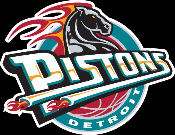 Details about Detroit Pistons Throwback Horse logo Vinyl Decal / Sticker 5  Sizes!!.