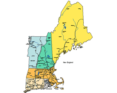 New england clipart.