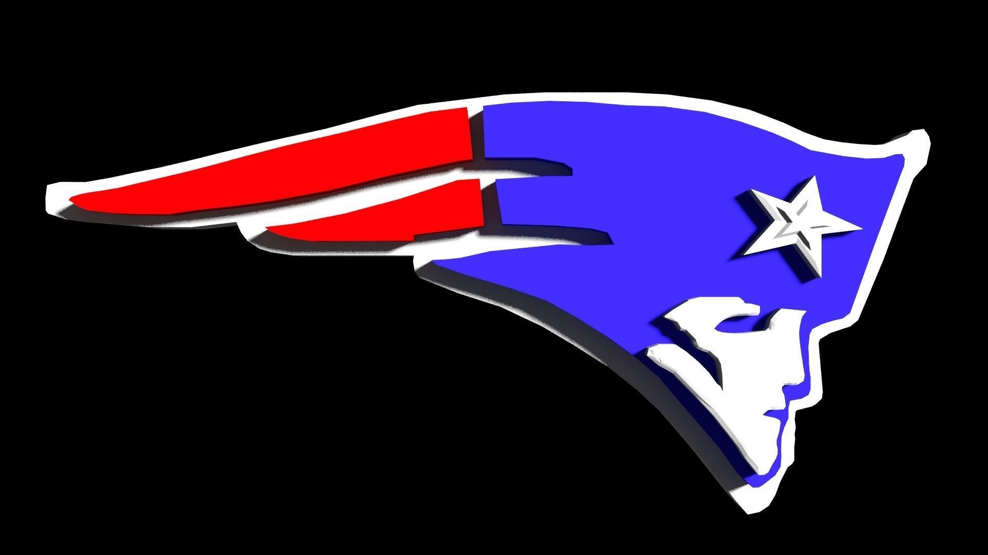 New England Patriots NFL team logo.