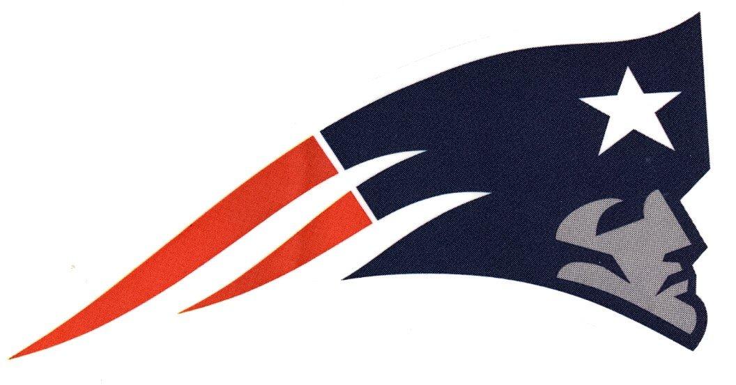 4 New England Patriots Die Cut Stickers NFL Football Logo Sticker Team  Helmet Set Pats.