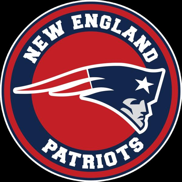 Details about New England Patriots Circle Logo Vinyl Decal / Sticker 10  sizes!!.