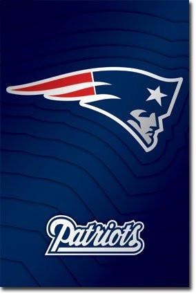 SPT33361 New England Patriots Logo 24x36.