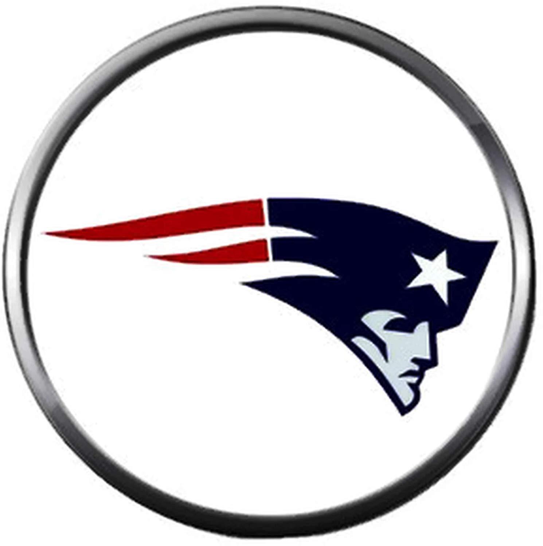 Amazon.com: NFL New England Patriots Logo with Star Football.