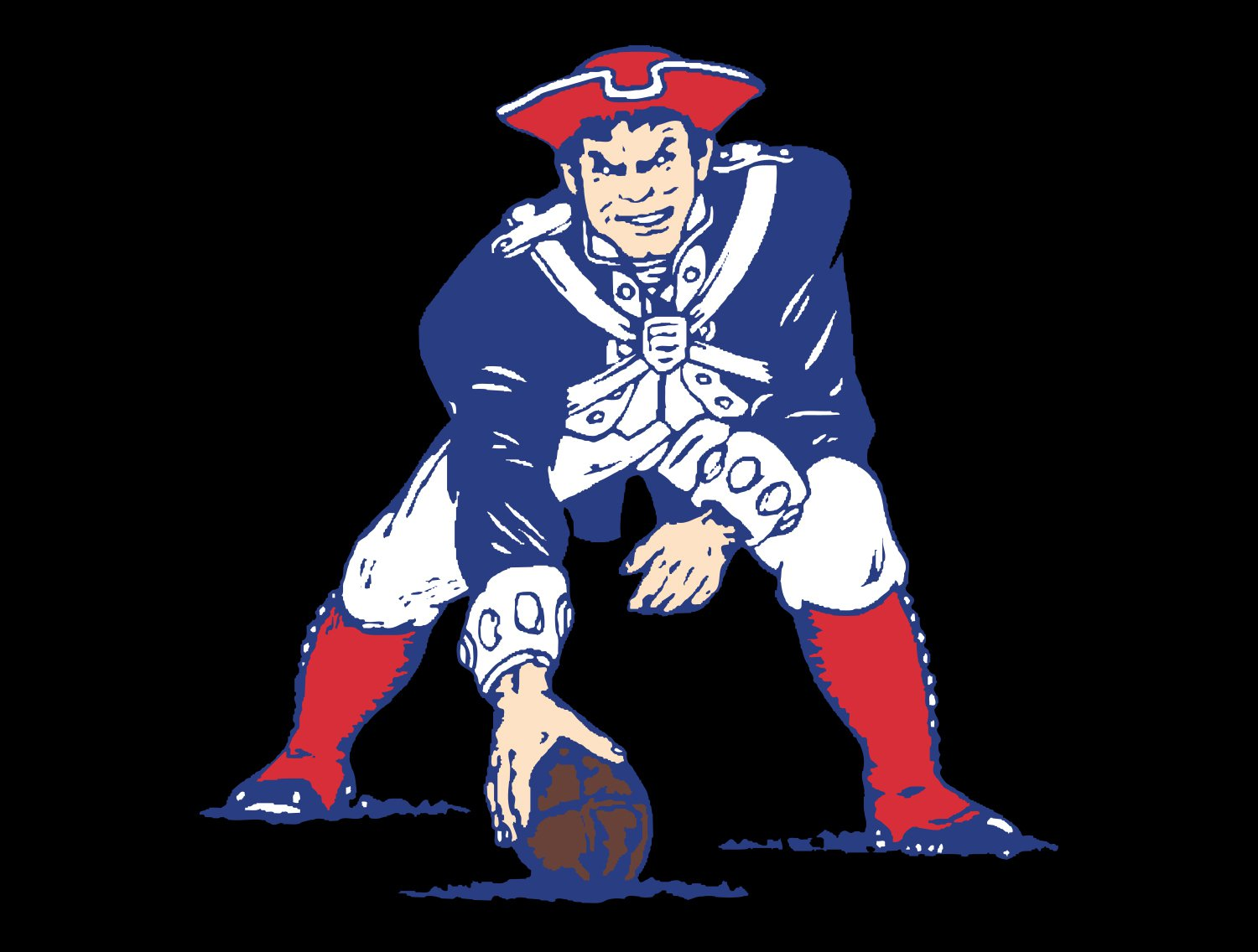 Meaning New England Patriots logo and symbol.