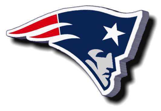 New England Patriots Logos.