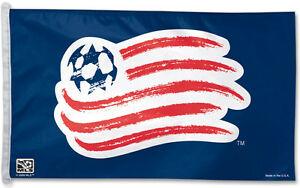 Details about NEW ENGLAND REVOLUTION Huge 3\'x5\' Official MLS Soccer Team  Logo GIANT FLAG.