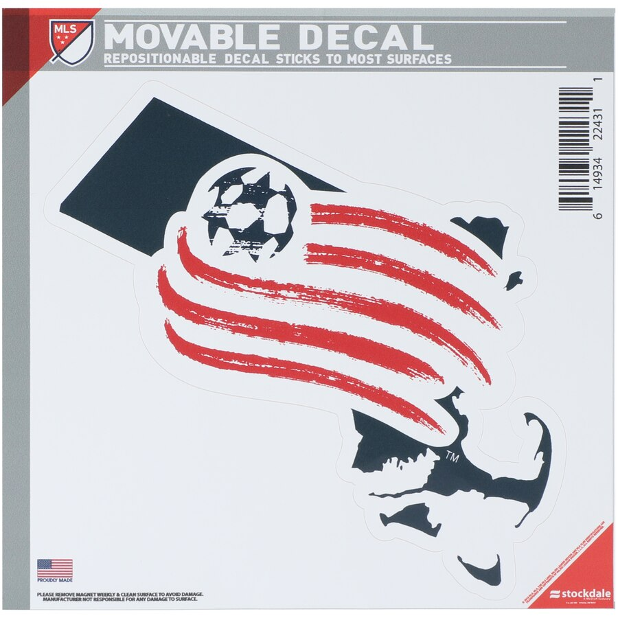 New England Revolution All Surface State Decal Logo.