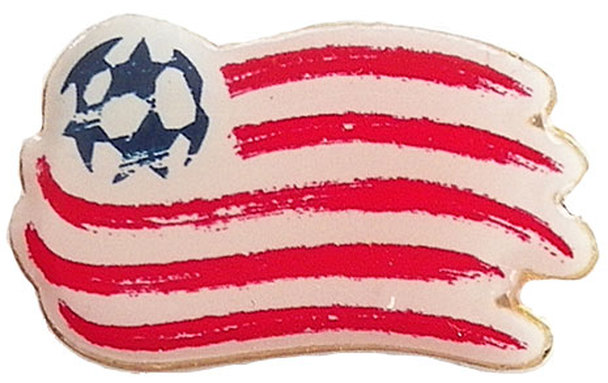 New England Revolution Logo Pin.