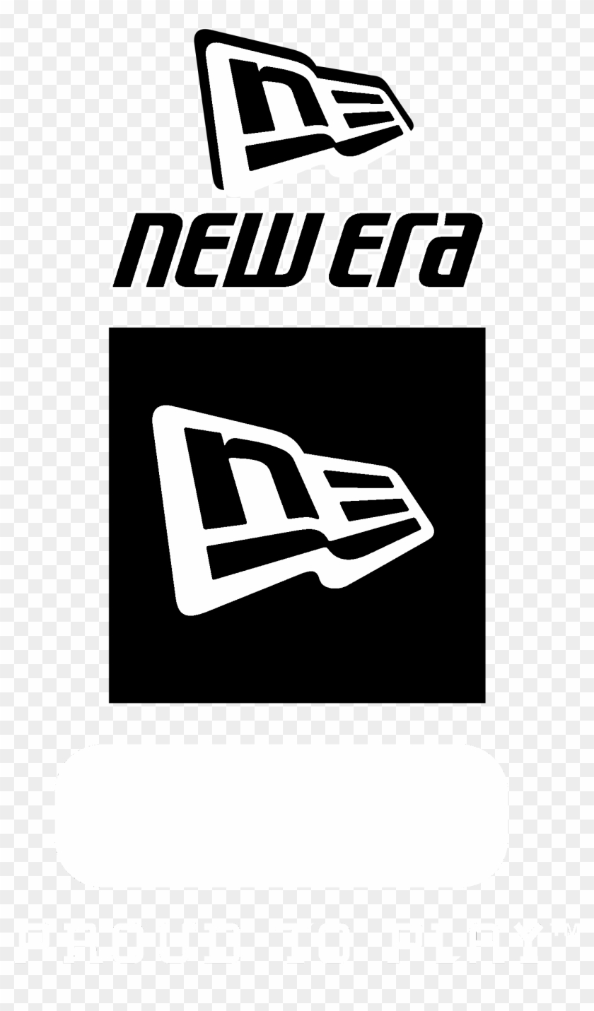 New Era Logo Black And White.
