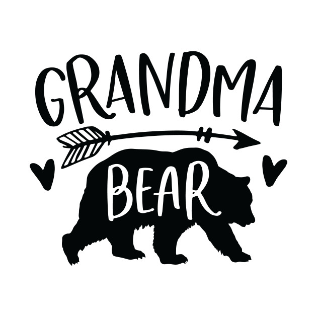 Grandma clipart bear, Grandma bear Transparent FREE for.
