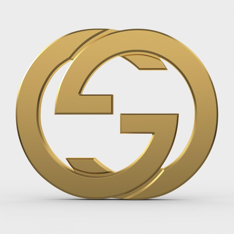 Gucci new logo 3D Model in Clothing 3DExport.