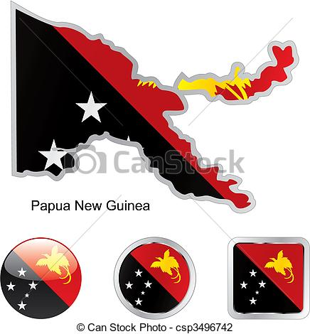 Flag papua new guinea Illustrations and Clip Art. 970 Flag papua.